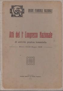 Atti del 1° Congresso Nazionale-pic