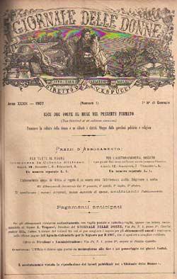 Il Giornale delle donne. Primi sondaggi lessicali (1889-1893)