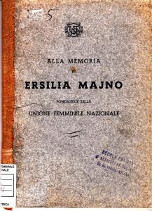 alla memoria di Ersilia Mayno