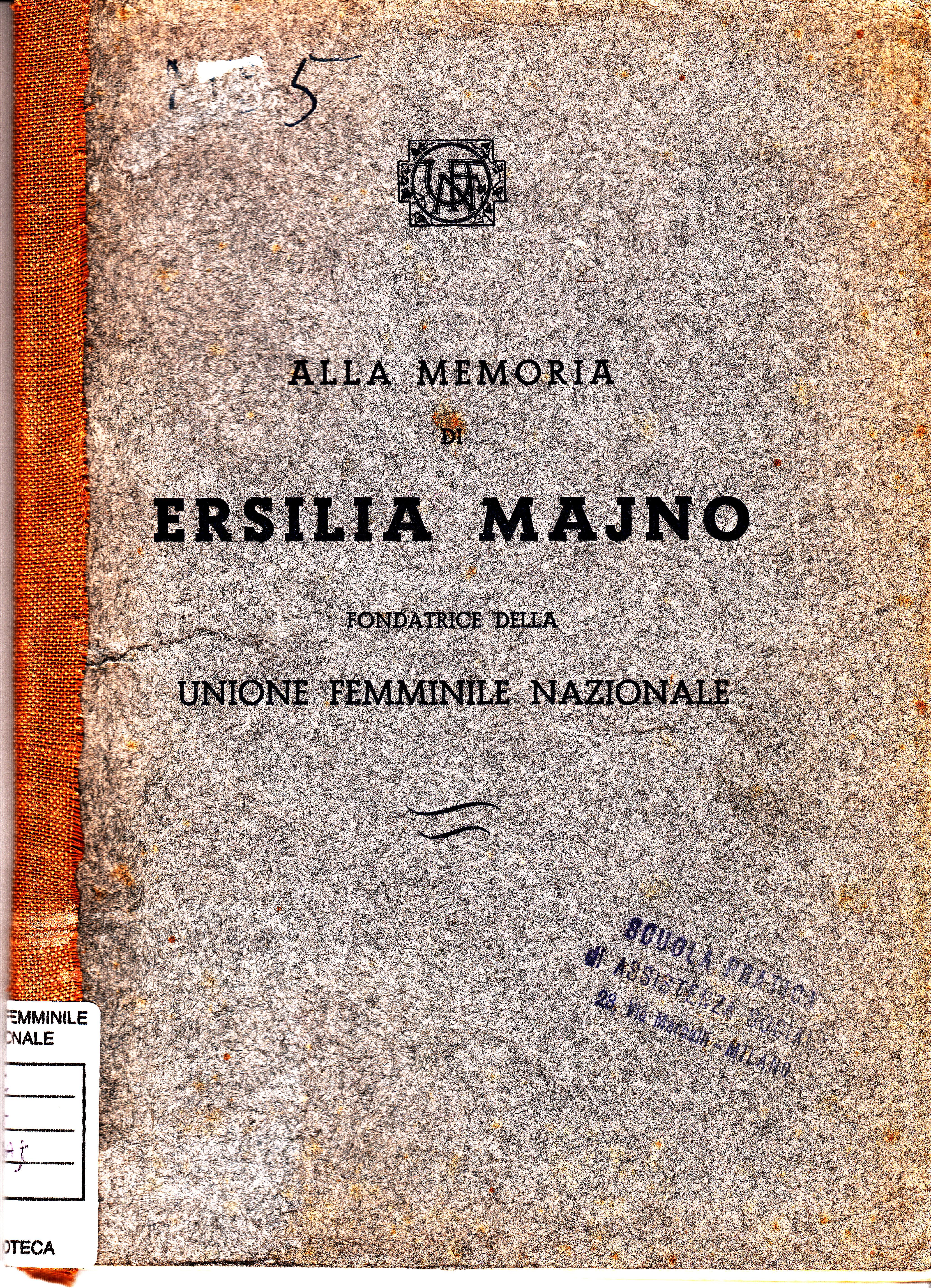 Alla memoria di Ersilia Majno