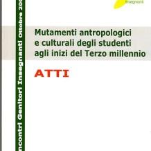 Mutamenti antropologici e culturali degli studenti