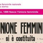 Inaugurazione mostra Unione femminile a Brescia