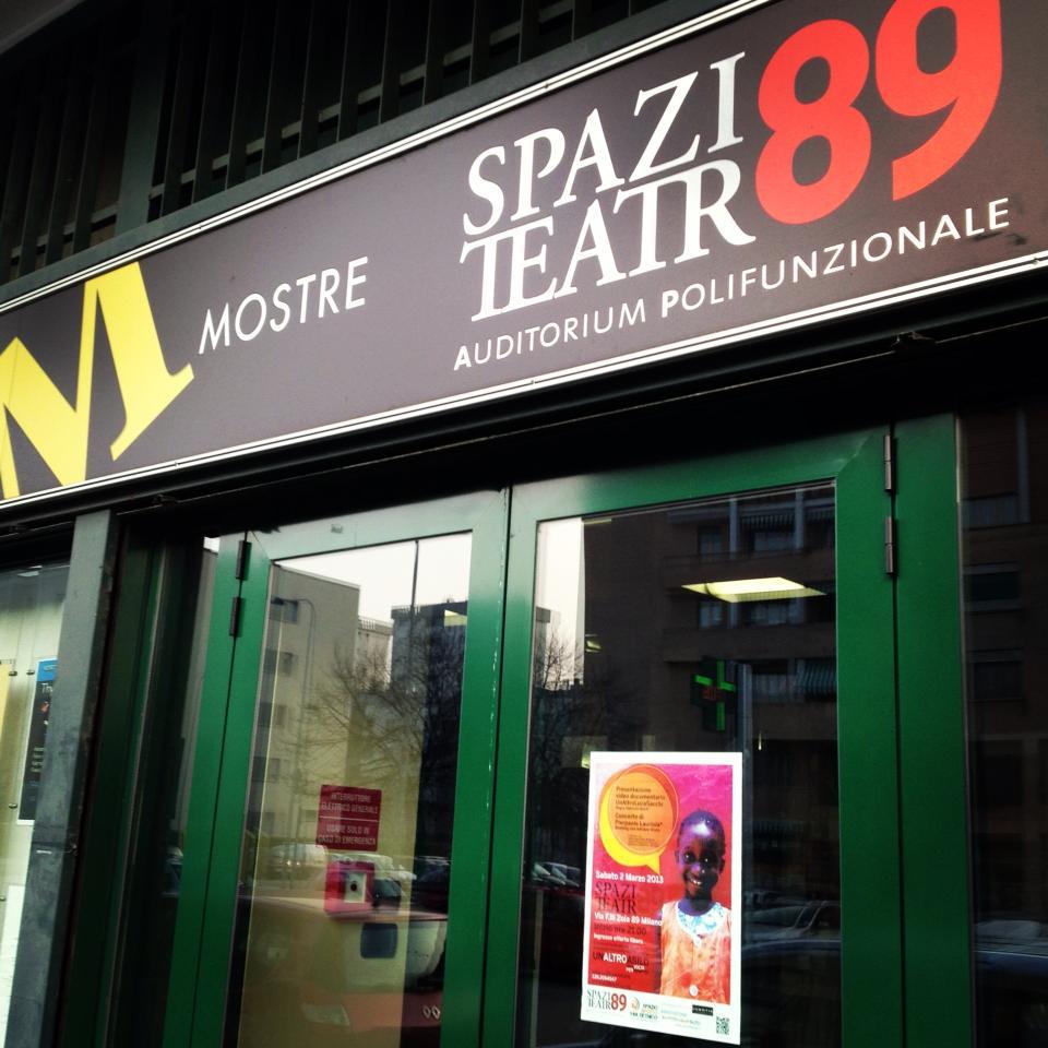 Mostra storica Unione femminile al Teatro 89 di Milano