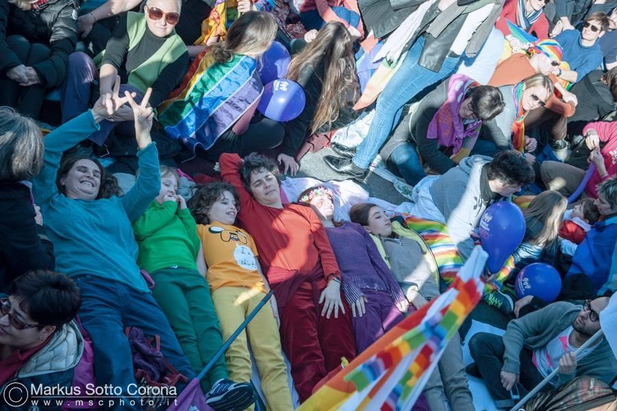 Foto di gruppo a colori