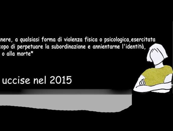 Basta! Le donne uccise nel 2015