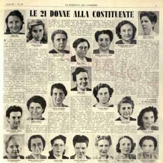 Le donne della Costituente: percorsi biografici e politici