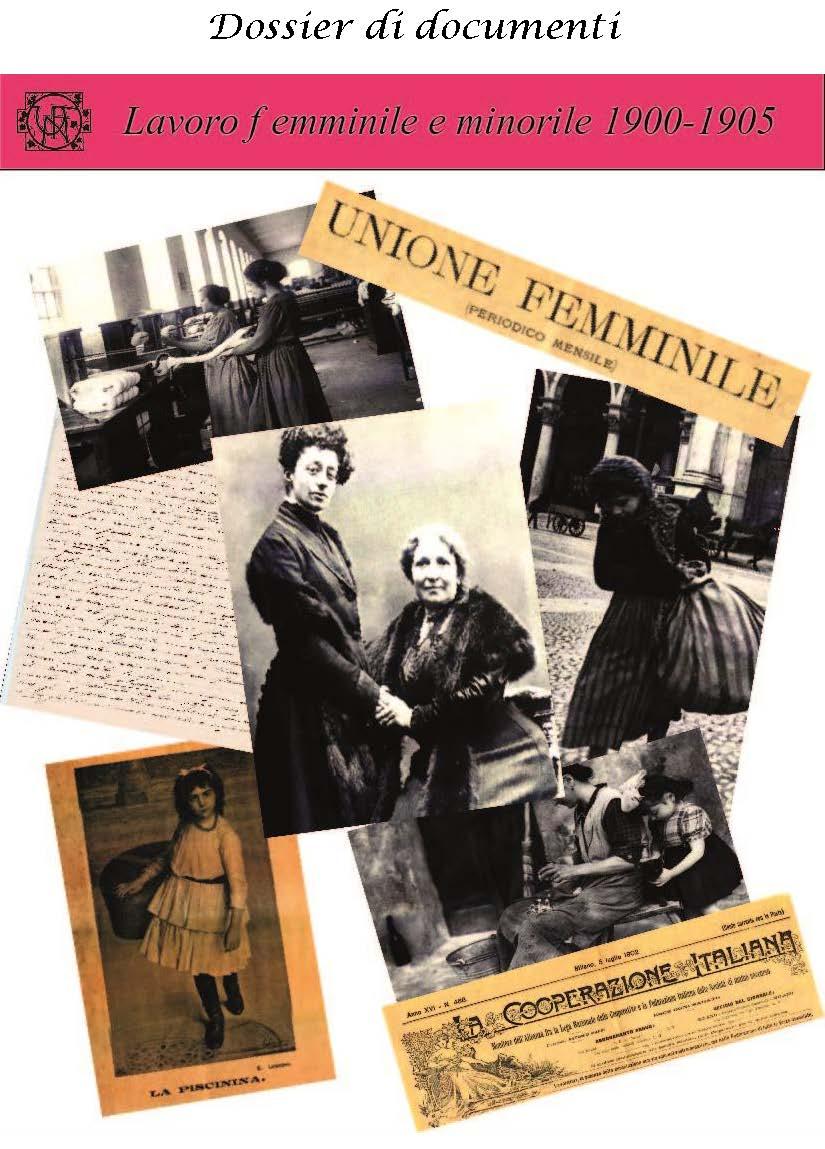 Lavoro femminile e minorile 1900-1905