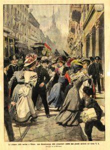 sciopero sartine domenica corriere CIT – [VI, bho] – 1907