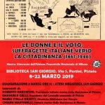 """Mostra """"Le donne e il voto. Suffragette italiane verso la cittadinanza (1861-1946)"""""""