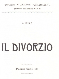 il divorzio wiera