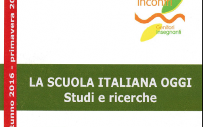 La scuola italiana oggi. Studi e ricerche