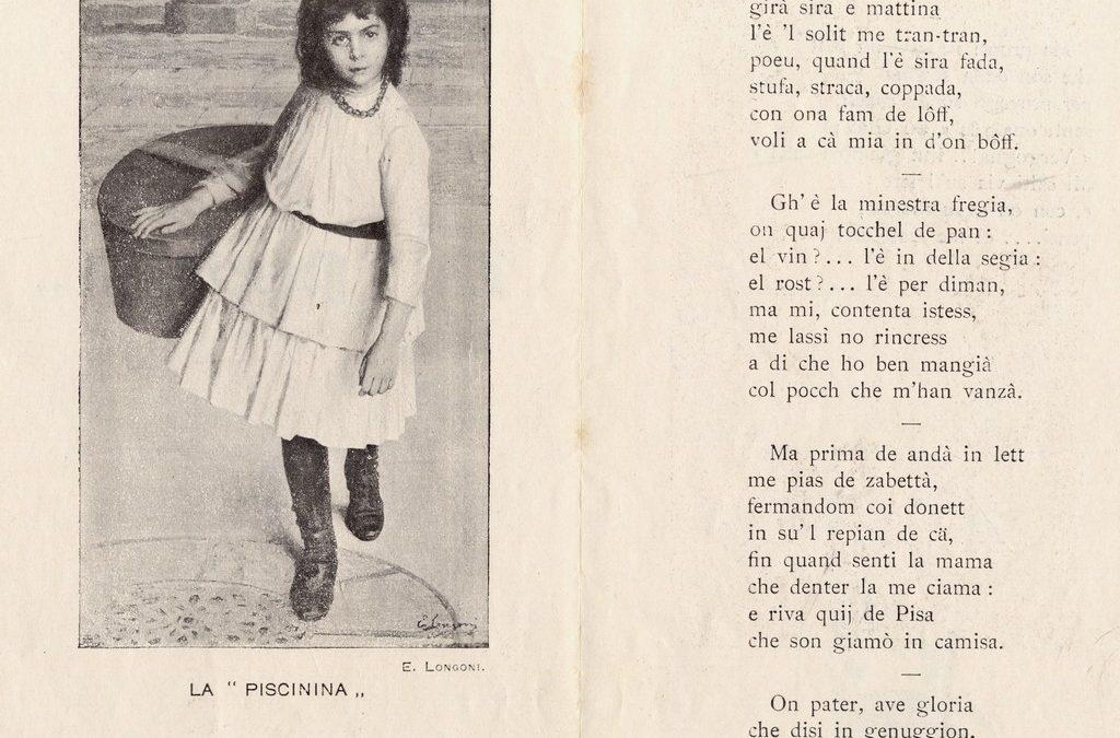 """""""Voéurem 50 ghei al dì!"""" Le piscinine dallo sciopero del 1902 alla società di mutuo soccorso La Fraterna istituita dall'Unione femminile nazionale"""