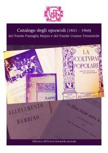 opuscoli archivi unione femminile